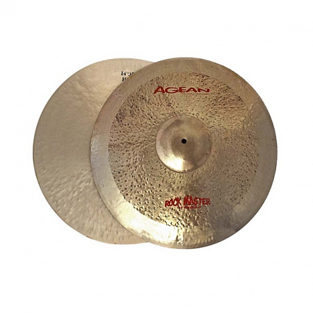 Тарелки Agean, Rock Master Regular Hi-hat 14""