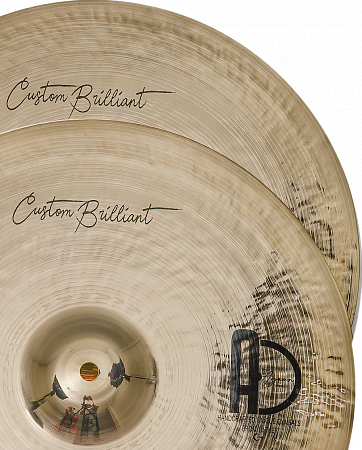 Тарелки Agean, Custom Brilliant Hi-hat 13""