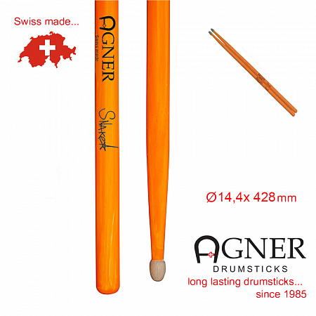 Agner Snake UV-light orange