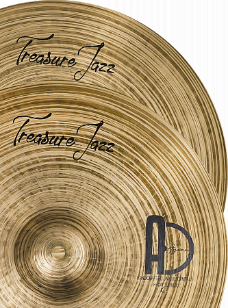 Тарелки Agean, Treasure Jazz Hi-hat 14""
