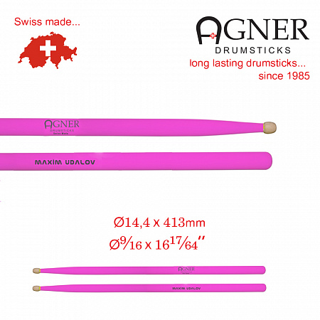 Agner Maxim Udalov UV-light pink