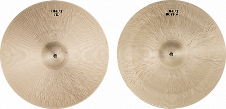 Тарелки Agean, Karia Medium Hi-hat 14""