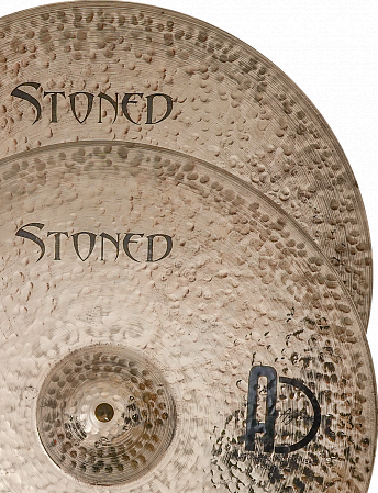 Тарелки Agean, Stoned Hi-hat Rock15""